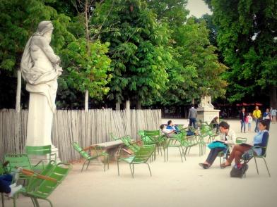 Stage - Croquis d'extérieur - Jardin des Tuileries