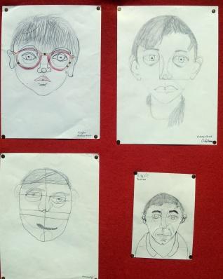 Série d'autoportraits
