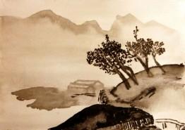 Mardi Soir - D'après les maîtres chinois