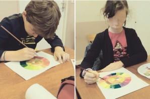 Jules et Capucine - Le Cercle des couleurs